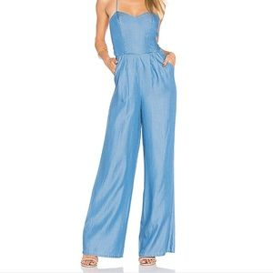 Lovers + Friends Chambray Jumpsuit
